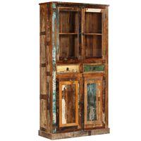 vidaXL Komoda 95 x 39 x 185 cm masivní recyklované dřevo