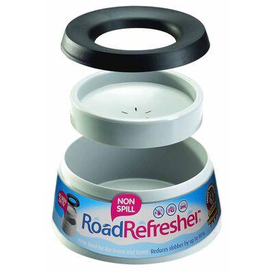 Road Refresher Miska na vodu s úpravou proti rozlití malá šedá SGRR