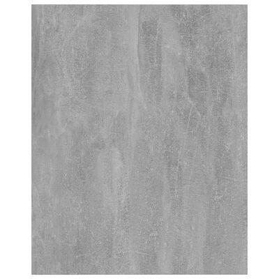 vidaXL Přídavné police 4 ks betonově šedé 40 x 50 x 1,5 cm dřevotříska