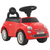 vidaXL Dětské autíčko Fiat 500 červené