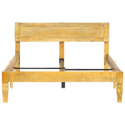 vidaXL Rám postele masivní mangovníkové dřevo 120 cm