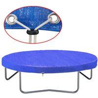 vidaXL Plachta na trampolínu PE 360-367 cm 90 g/m²