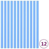 vidaXL Pěnová ochrana na trampolínové tyče 12 ks 92,5 cm modrá