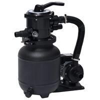 vidaXL Bazénové pískové filtrační čerpadlo se 7polohovým ventilem 18 l