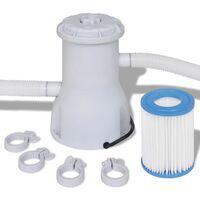 vidaXL Bazénová filtrace 2 000 l/h