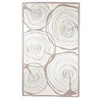 Esschert Design Venkovní koberec 240 x 150 cm letokruhy