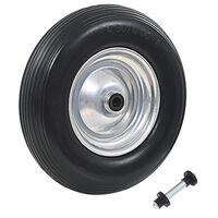 vidaXL Kolo ke kolečku s nápravou odolné PU 4.00–8390 mm