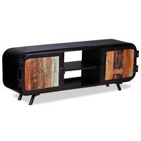 vidaXL TV stolek recyklované dřevo 120 x 30 x 45 cm