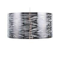 Stříbrná Stropní Lampa Torno