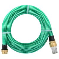 vidaXL Sací hadice s mosaznými konektory 20 m 25 mm zelená