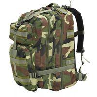 vidaXL Batoh v army stylu 50 l maskáčový