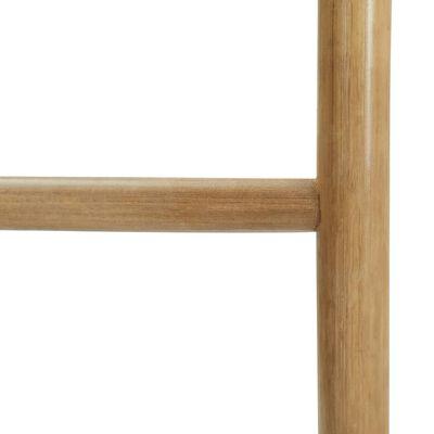 vidaXL Žebřík na ručníky s 5 příčlemi 170 cm bambus