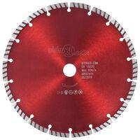 vidaXL Diamantový řezací kotouč turbo ocel 230 mm