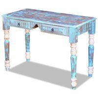 vidaXL Psací stůl masivní recyklované dřevo
