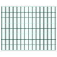 vidaXL 2D Zahradní plotové dílce 2,008 x 1,63 m 30 m (celková délka)