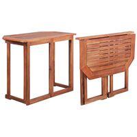 vidaXL Bistro stolek 90 x 50 x 75 cm masivní akáciové dřevo