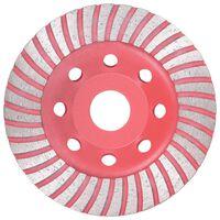 vidaXL Diamantový brusný talíř turbo 115 mm