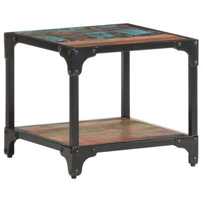 vidaXL Konferenční stolek 40 x 40 x 36 cm masivní recyklované dřevo