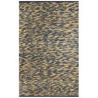 vidaXL Ručně vyráběný koberec juta modrý a přírodní 160 x 230 cm