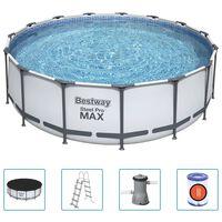 Bestway Bazénový set Steel Pro MAX kruhový 457 x 122 cm