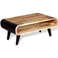 vidaXL Konferenční stolek z hrubého mangovníkového dřeva 90x55x39 cm