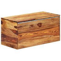 vidaXL Úložná truhla 80 x 40 x 40 cm masivní sheeshamové dřevo