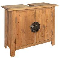 vidaXL Skříňka pod umyvadlo recyklované borové dřevo 70 x 32 x 63 cm