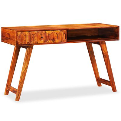 vidaXL Psací stůl z masivního sheeshamového dřeva 118 x 50 x 76 cm