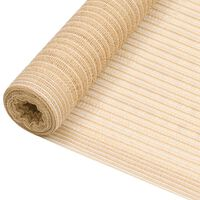 vidaXL Stínící tkanina béžová 3,6 x 25 m HDPE 150 g/m²