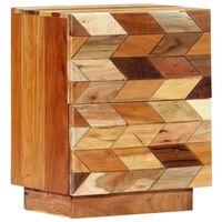 vidaXL Noční stolek 40 x 30 x 50 cm masivní recyklované dřevo
