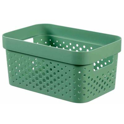 Curver Úložné boxy s víkem Infinity 4 ks 11 l + 17 l zelené