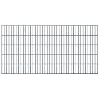 vidaXL 2D zahradní plotové dílce 2,008x1,03 m 8 m (celková délka) šedé