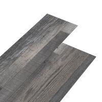 vidaXL Podlahová krytina PVC 4,46 m² 3 mm samolepicí průmyslové dřevo