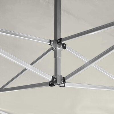 vidaXL Profesionální skládací party stan hliník 4,5 x 3 m krémový