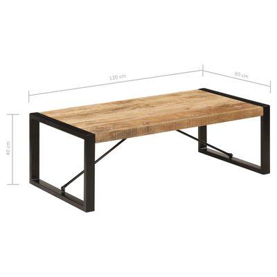 vidaXL Konferenční stolek 120 x 60 x 40 cm masivní mangovníkové dřevo,
