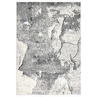 vidaXL Koberec šedý 160 x 230 cm PP
