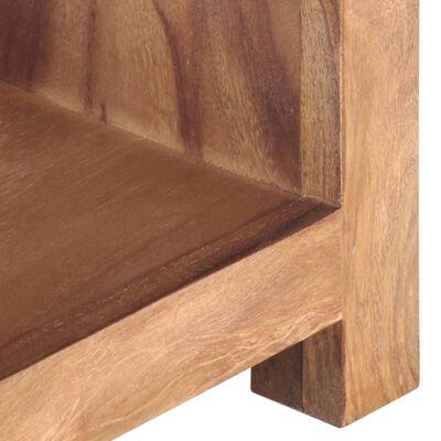 vidaXL Konferenční stolek 110 x 45 x 30 cm masivní sheesham