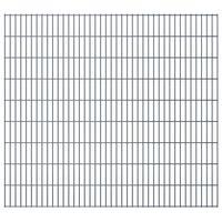 vidaXL 2D zahradní plotové dílce 2,008x1,83 m 4 m (celková délka) šedé