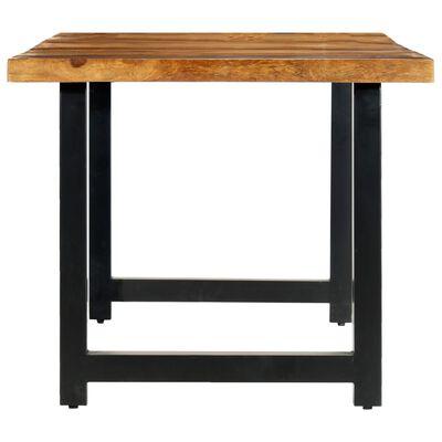 vidaXL Jídelní stůl 180 x 90 x 76 cm masivní sheeshamové dřevo