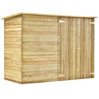 vidaXL Zahradní domek / kůlna 232 x 110 x 170 cm impregnovaná borovice
