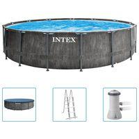 Intex Rámový bazén Greywood Prism Frame Premium 457 x 122 cm