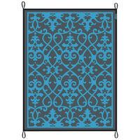 Bo-Leisure Venkovní koberec Chill mat Lounge 2,7 x 3,5 m modrý