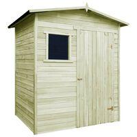 vidaXL Zahradní domek/kůlna 1,5 x 2 m impregnovaná borovice