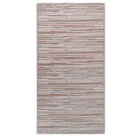 vidaXL Venkovní koberec hnědý 190 x 290 cm PP