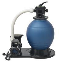 vidaXL Písková filtrace s čerpadlem 1000 W 16800 l/h XL