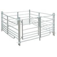 Ohrada pro ovce 137 x 137 x 92 cm, 4 panely z pozinkované oceli