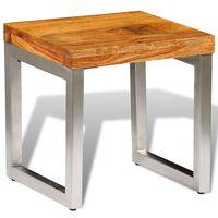 vidaXL Konferenční stolek z masivního sheeshamu