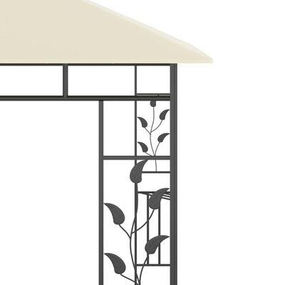 vidaXL Altán s moskytiérou 3 x 3 x 2,73 m krémový 180 g/m²