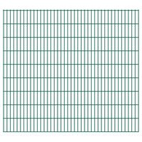 vidaXL 2D Zahradní plotové dílce 2,008 x 1,83 m 24 m (celková délka)