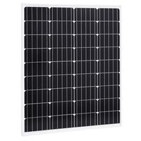 vidaXL Solární panel 80 W monokrystalický hliník a bezpečnostní sklo